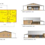 My Eco-Maison Floor Plan + Elevations